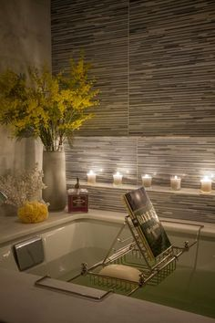 master bathroom. - Contemporary - Bathroom - Images by a simple room | Wayfair