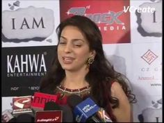 Juhi Chawla at the success party of the movie I AM.flv