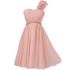JAEDEN Women's One Shoulder Short Bridesmaid Dresses Mini Evening Prom Dress Beige US12 at Amazon Women's Clothing store: