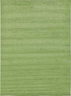 Solo Green Area Rug