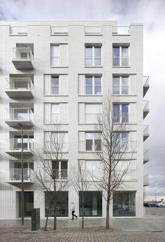 de Vylder Vinck Taillieu .  Cadix Housing Complex . Antwerp (1)