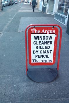 A headline that can only happen in Brighton