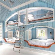 Blue Kids Room Design