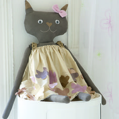 Toy cat - Ideas Magazine - Templates and Instructions