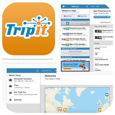 Another good app to keep all the information for planning your trip in one place so its easy to find, share and access.