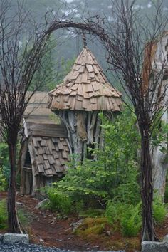 25 Wild & Wonderful Fantasy Homes. this would make an awesome playhouse
