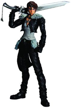 Final Fantasy Dissidia : Squall Play Arts Kai Action Figure