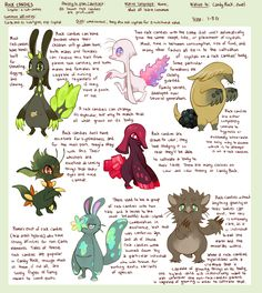 Species - Rock Candies by purplekecleon on deviantART