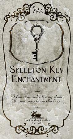 Skeleton Key Label | Flickr - Photo Sharing!