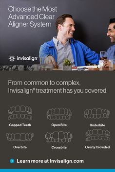Make the move that will take your life to new heights. Learn how you can see your smile transform up to 50% faster with Invisalign® treatment.*  *With weekly aligner changes compared with two-week aligner changes.