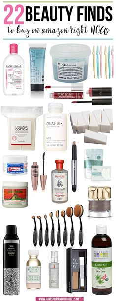 WHOA! Stop everything you're doing right NOW! You have to check this post out. 22 Beauty Finds to buy on Amazon right NOW!