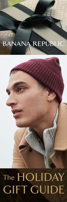 Something tailored, something cozy, something cool—perfect presents, just for him. Premium sweaters, winter-ready outerwear and stylish extras are among the many must-have gifts you'll find only at Banana Republic.