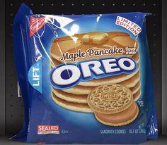 Oreo Maple Pancakes...Only Wishful Thinking !!!!