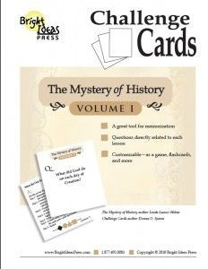 The Mystery of History Volume 1 - Challenge Cards (Download)