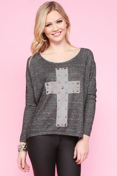 CLOTHING / TOPS / Cross It Out Top