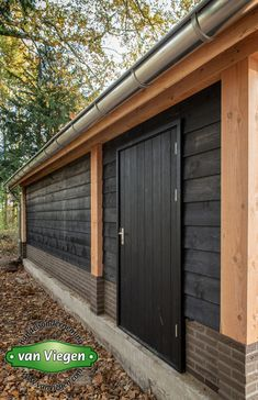 Shed Design, House Design, Cabana, Small Apartment Interior, Small Apartments, Garden Projects, Bungalow, Pergola, Garage Doors