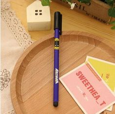 Free shipping NEW Cartoon printing stylo cute pen, Creative kawaii gel pens, office school supplies lapiceros caneta papeleria