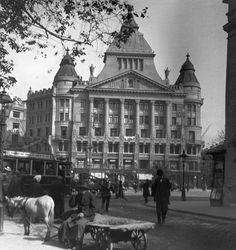 1912. Deák tér, Anker ház