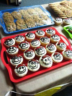 AWANA sparks cupcakes