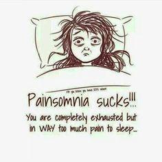 "Painsomnia, contraction de ""pain"" (douleur) et ""insomnia"" (insomnie) Welcome To My Life, Pcos, Chronic Illness Quotes, Endometriosis Quotes, Lupus Quotes, Hernia, Ankylosing Spondylitis, Trigeminal Neuralgia, Hypermobility"