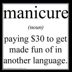Or pedicure @Amy