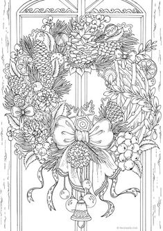 Tigers - Printable Adult Coloring Pages from Favoreads Our tigers are resting. The ideal moment to take your pencils and start working on this printable coloring sheet. Flower Coloring Pages, Coloring Pages To Print, Coloring Pages For Kids, Coloring Books, Mandala Coloring, Printable Christmas Coloring Pages, Christmas Coloring Sheets, Printable Adult Coloring Pages, Christmas Colors