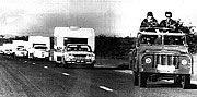 convoy Rhodesia