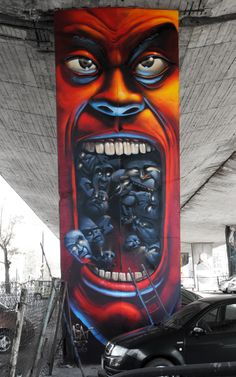 Artist :Fat Heat https://www.etsy.com/shop/urbanNYCdesigns?ref=hdr_shop_menu #street #art #graffiti