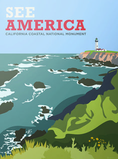 Glorious Vintage-Inspired Posters of America's National Parks The new posters pay homage to the 1930s originals.