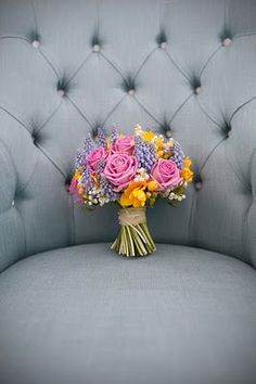 "flowers...She will and I repeat say "" I hate flowers""..What a waiste of money...So fill the ROOM with them..."