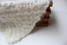 White mini newborn wrap /newborn photography by knitsandwhatknots