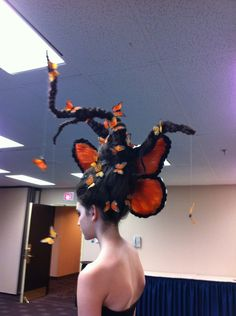 Hair and Makeup by Julia Bayuk of Halifax for fantasy hair competition...she came in 3rd!