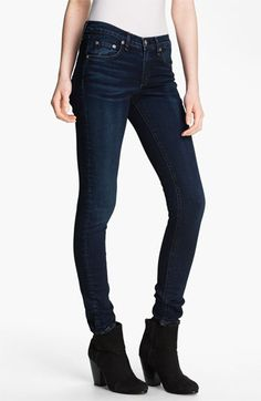 rag & bone/JEAN Skinny Stretch Jeans (Woodford) available at #Nordstrom
