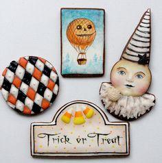 Arty Mcgoo Halloween cookies