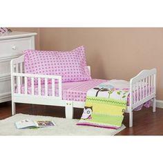 Dream On Me Baby Owl 4 Piece Toddler Bedding Set