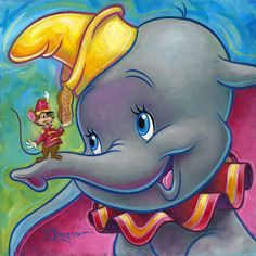"""Theirs no Bulling at Disney. We are all one.... :-) """"Dumbo"""""""