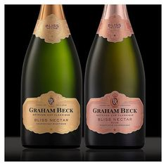 New packaging by for Label Design, Graham, Bliss, Champagne, Bubbles, Packaging, Wine, Drinks, Bottle