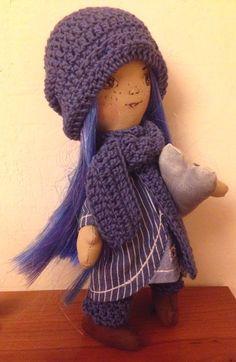 Frutos y Borregos:       Ya hacia días que no hacia una muñeca, y es...