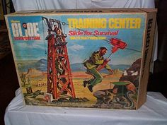 Actually, didn't have this one. A kid down the street did. When he set it up it took over his whole living room and all the kids from the neighborhood would bring their GI Joes to test the slide out!