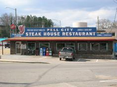 2401 Comer Avenue, Pell City, AL Pell City Alabama, Places To Eat, Places Ive Been, Moving Across Country, Roots And Wings, Sweet Home Alabama, Brick Building, House Restaurant, Diners