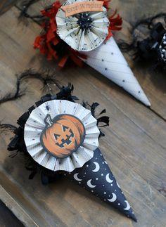 halloween cones