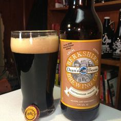 Berkshire Brewing Company Deans Beans Coffeehouse Porter #craftbeer