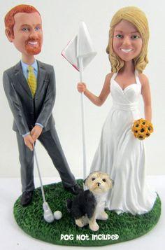 golf wedding cake - Google Search