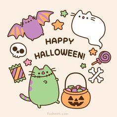 Kawaii Halloween Pusheen cat little bat Pusheen! Kawaii Halloween, Cute Halloween, Holidays Halloween, Chat Pusheen, Pusheen Love, Chat Kawaii, Sooo Kawaii, Kawaii Shop, Halloween Express
