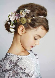 Floral headband - Dolce & Gabbana Kids - Via Vivi & Oli Baby Fashion Life