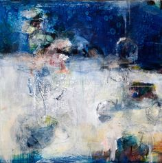 """Contemporary Painting - """"The Cooling"""" (Original Art from Amy Longcope)  www.amylongcope.com"""