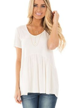 Style: Casual, Cute, Brief, Sexy Occasion: Summer Pattern: Solid Neckline: V-Neck Sleeve Length: Short Sleeve Size Type: Regular Decoration: Ruched Package Contents: 1 X Top Brand: None Package: Each