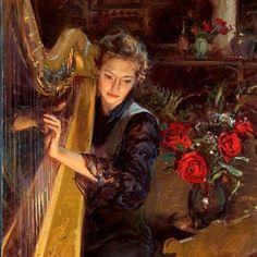 playing the harp-2