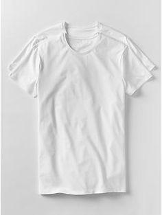 Stretch crewneck t-shirts (2-pack) | Gap Large