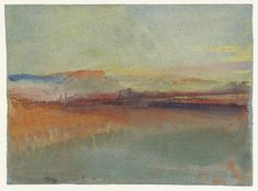 Joseph Mallord William Turner, 'Distant View of Coblenz and Ehrenbreitstein' (J. Turner: Sketchbooks, Drawings and Watercolours) Turner Painting, Painting & Drawing, Watercolor Paintings, Watercolours, Oil Paintings, Joseph Mallord William Turner, Watercolor Landscape, Landscape Paintings, Turner Watercolors